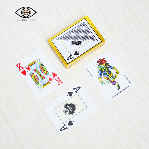 marked cards cheat poker copag