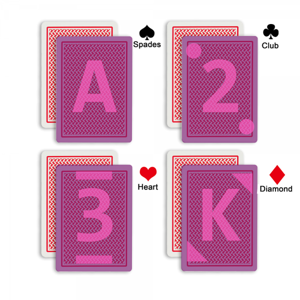 marked cards mark type