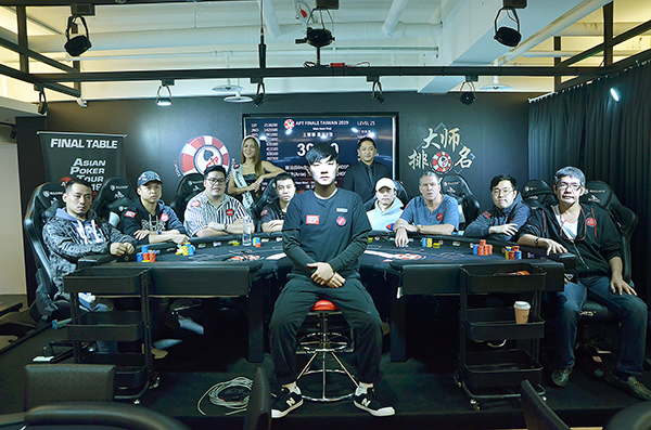 Marked Playing Cards Event| APT Final table