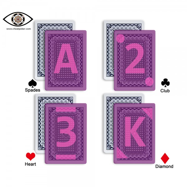 mark type of JMBROYAL Infrared Marked Cards