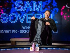 Marked Cards Poker Event| Sam Soverel won the best player of the Poker Masters
