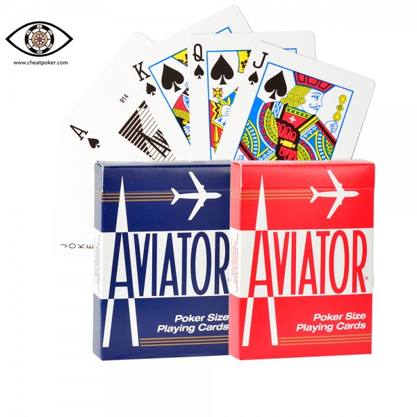 Barcode Marked Cards cheat poker of AVIATOR