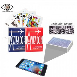 Barcode Marked Cards of AVIATOR Can Help You Win|JL CheatPoker