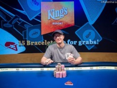 Marked Cards WSOP|Kahle Burns Won The European Platinum High Roller