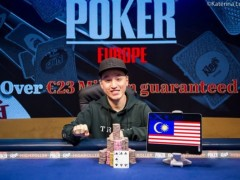 Cheat Poker WSOP|Chin Wei Lim Won The European High Roller Championship