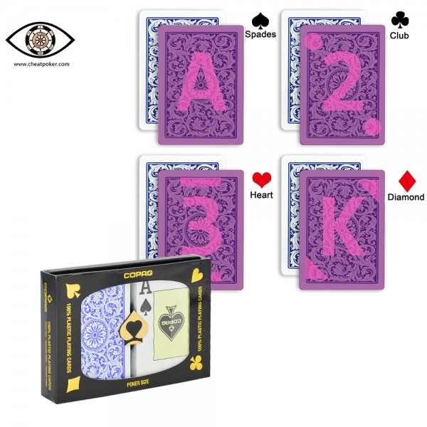 copag ifrared marked cards cheat poker