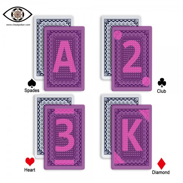 infrared royal marked cards mark type