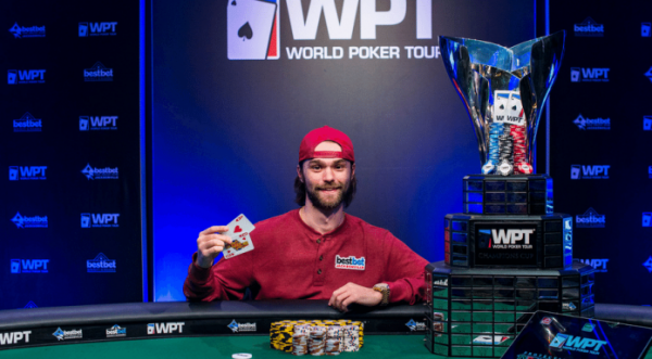 Josh Adkins Wins Marked Playing Cards WPT bestbet