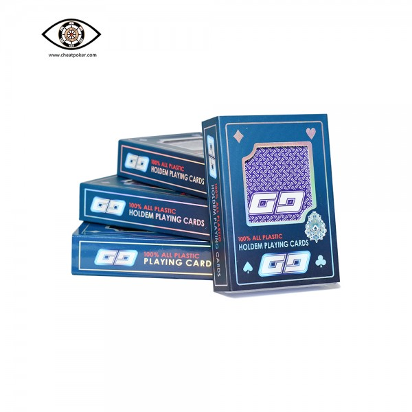 GG barcode marked playing cards