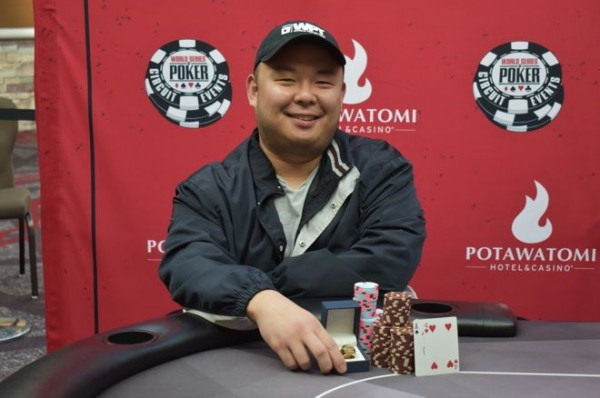 Richard Bai WSOP Event