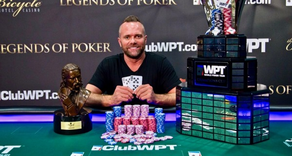 Aaron Won WPT legendary poker