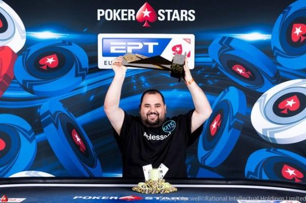 Chris Hunichen Won EPT High Roller Barcelona Championship