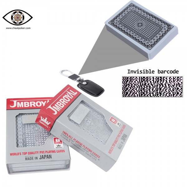 Marked Playing Cards for Sale - JMBROYAL Barcode Cheating Poker