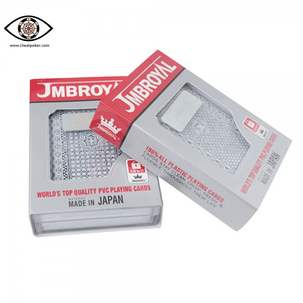 JMBROYAL barcode marked playing cards