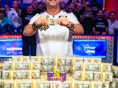 WSOP Event | Hossein Ensan: Veteran Players Break Young Players' Domination
