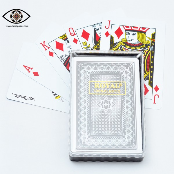 royal barcode marked cards cheat poker