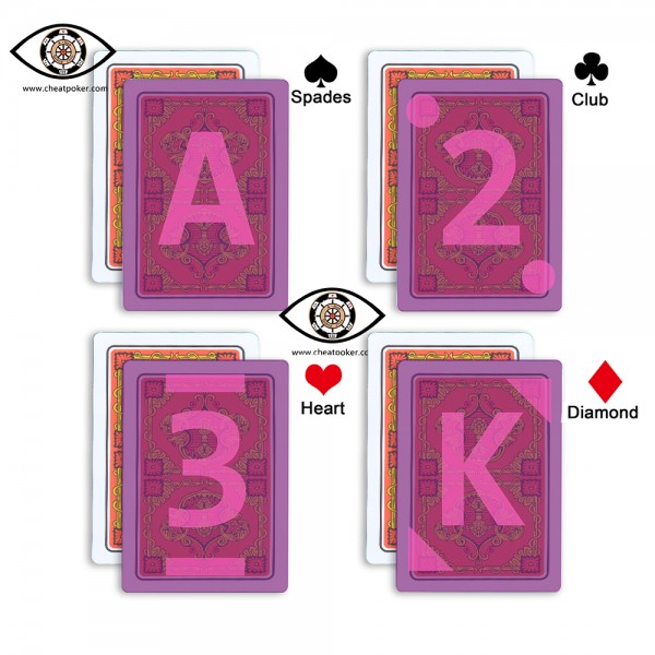 Russian marked playing cards