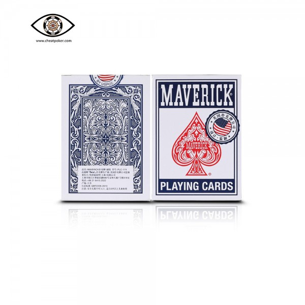 maverick marked playing cards