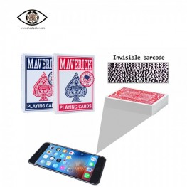 Maverick Marked Playing Cards of Poker Analyzer for Sale