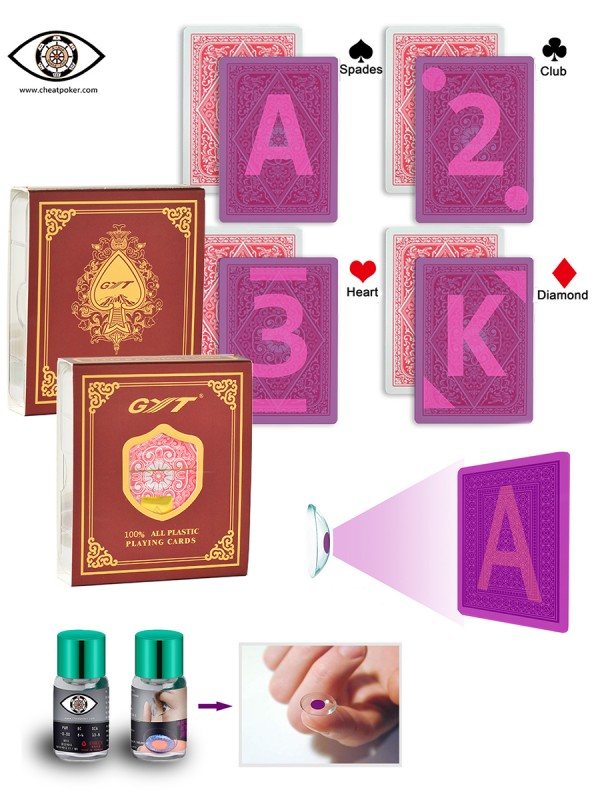 GYT marked cheating playing cards