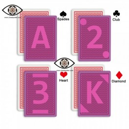 Marked Cards for Contact Lenses | Copag Texas Holdem 888 Cheat Poker