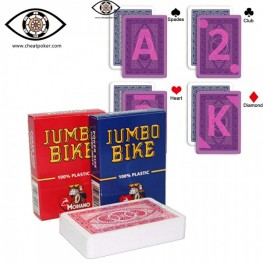 Modiano Marked Cards | Invisible Ink Cheat Poker | Jumbo Bike