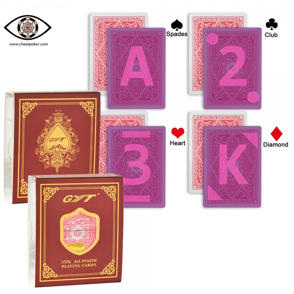 Poker Cheating Marked Cards| GYT 609 For Infrared Contact Lenses