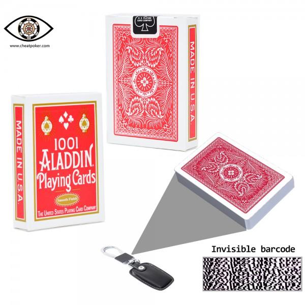 Marked Cards for Poker Analyzer| Aladdin Poker Cheating Device