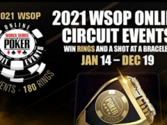 WSOP Announces Expansion of Online Circuit Events Season in 2021