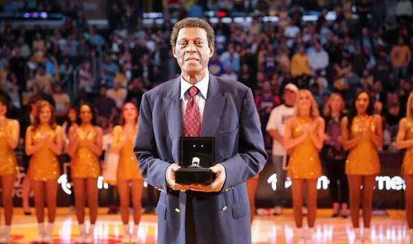 Former NBA Lakers champion Elgin Baylor