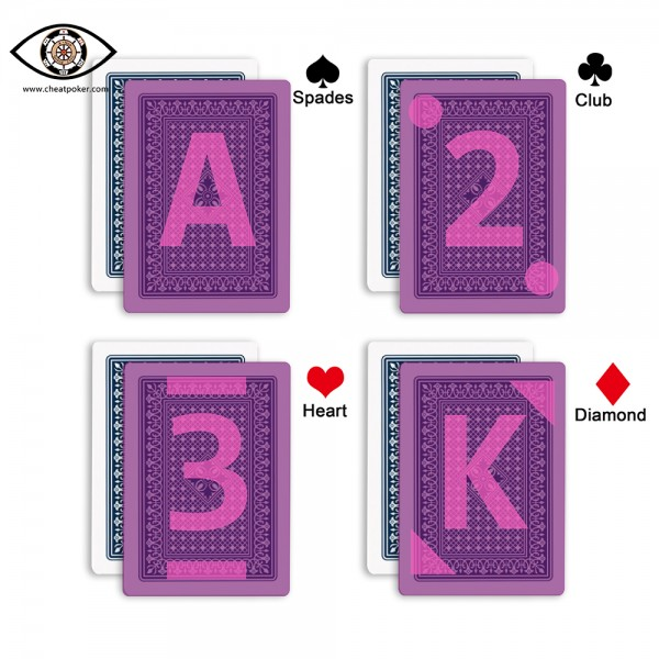 fournier 818 marked cards invisible marks