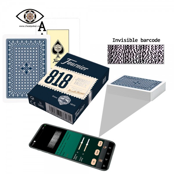 fournier 818 barcode marked playing cards
