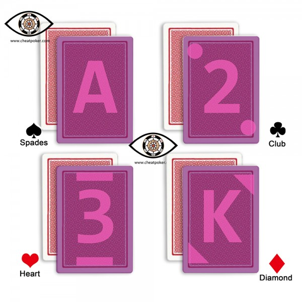 Fournier 55 infrared marked cards