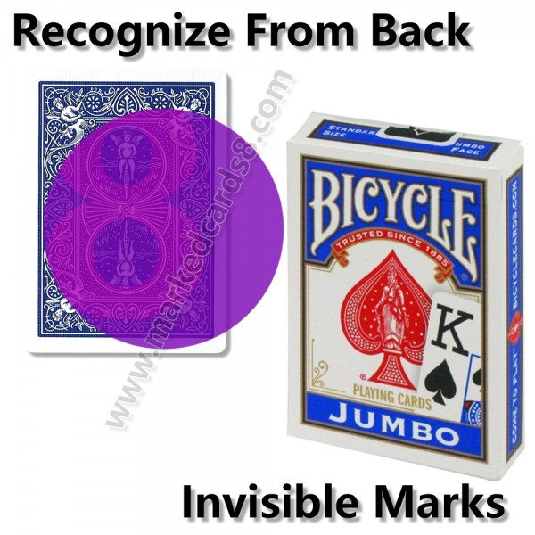 Bicycle Jumbo Marked Cards | Poker Cheating Cards